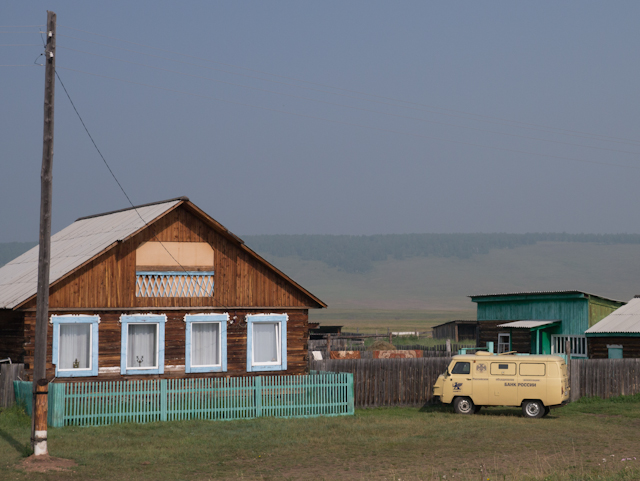 On the way to Ka'Chug - the capital of Siberian guzzle fests. Or not.