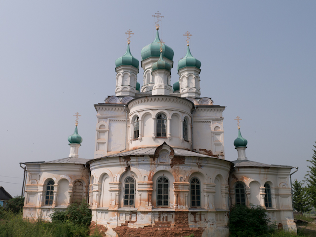 Beautiful, in ruin, Russian Orthodox museums.