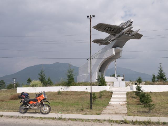 Taksimo monument