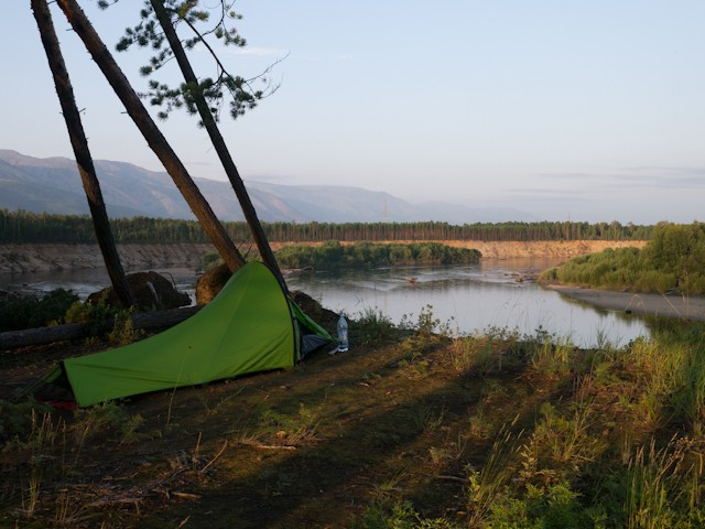 Camp near Kuanda