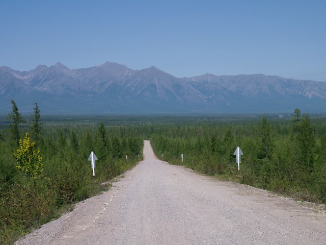 The loneliest road in Siberia ?