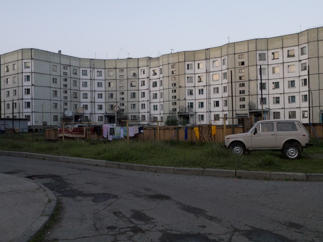 "The Soviets OWNED ""block"" apartment design."